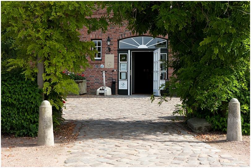 Eingang Golfanlage